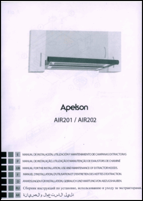 Apelson AIR201, AIR202 User's Manual