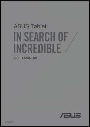ASUS ME180A Manual del Usuario