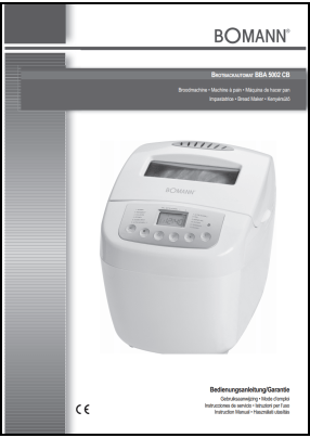 Bomann BBA 5002 CB User's Manual