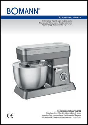 Bomann KM 398 CB User's Manual
