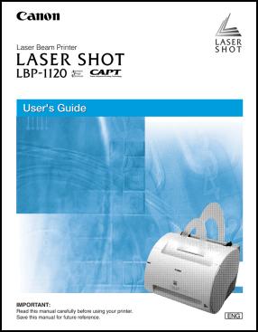 Canon LBP-1120 Инструкция пользователя
