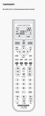 Chunghop RM-L968E User's Manual + Code List