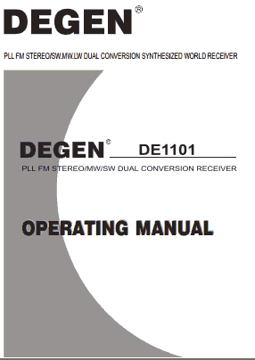 Degen DE1101 User's Manual