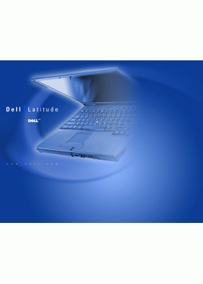 Dell Latitude C640 User's Manual