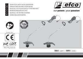 Efco 8061, 8091 Руководство пользователя