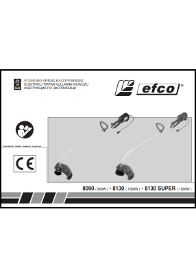 Efco 8090, 8130 User's manual