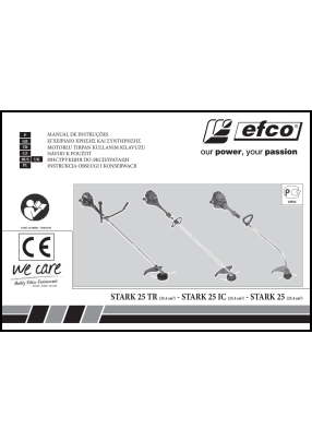 Efco STARK 25 User's Manual