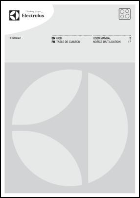 Electrolux EGT6242 Руководство пользователя