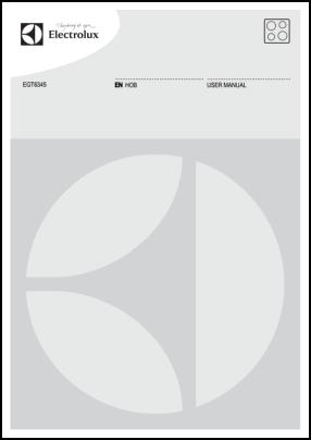 Electrolux EGT6345 Руководство пользователя