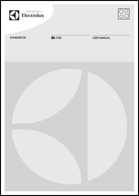 Electrolux EHH6540FOK Руководство пользователя