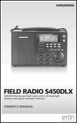 Grundig S450DLX Руководство пользователя