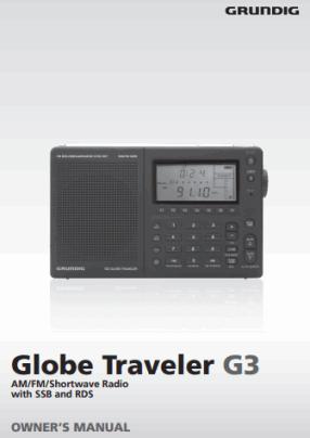 Grundig Traveler G3 Руководство пользователя