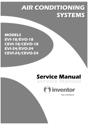 Inventor EVI-18, EVO-18, CEVI-18, CEVO-18, EVI-24, EVO-24, CEVI-24, CEVO-24 Service Manual