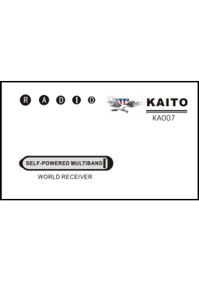 Kaito KA007 User's Manual