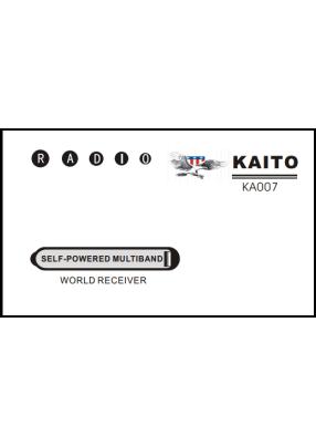Kaito KA007 Руководство пользователя