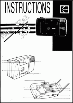 Kodak ProStar 333 User's Manual