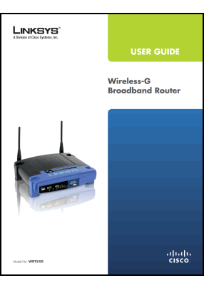 Linksys WRT54G User's Manual