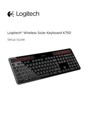 Logitech K750 User's Manual