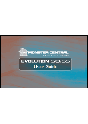 Monster Evolution 50, Evolution 55 User's Manual