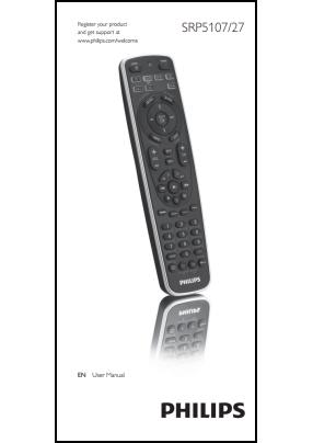 Philips SRP5107-27 Руководство пользователя