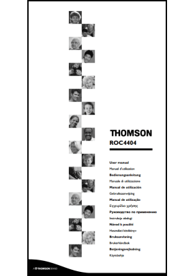 Thomson ROC 4404 User's Manual + Code List