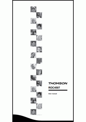 Thomson ROC 4507 User's Manual + Code List