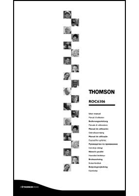 Thomson ROC 6306 Руководство пользователя