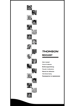 Thomson ROC 6507 Руководство пользователя