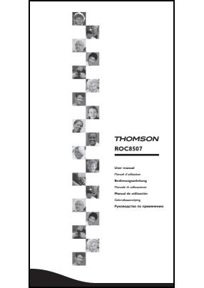 Thomson ROC 8507 User's Manual + Code List