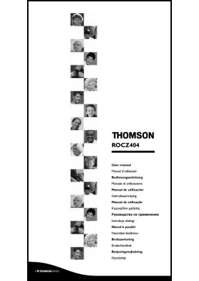 Thomson ROC Z404 Руководство пользователя